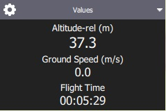 Instrument Page - for values/telemetry