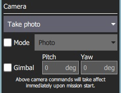 MissionSettings Camera Section