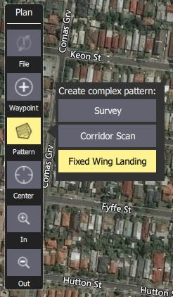 Fixed Wing Landing Pattern