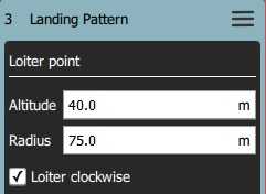 Landing Pattern - Loiter Point