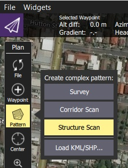 Structure Scan · QGroundControl User Guide